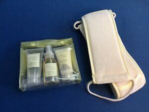 Bath & Body:  White Tea & Ginger 3-pc set, shower gel, body lotion, body mist