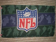 "NFL Green & Blue Cotton Blend Pillow Case by The Bibb Company   30.5"" x 18.5"""