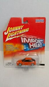 Johnny Lightning Import Heat Honda Civic Custom Orange HTF