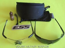 NEW ESS ICE EYE SHIELD MILITARY BALLISTIC SAFETY GLASSES OAKLEY 740-0004