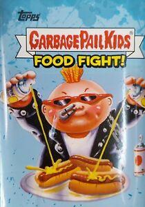 LOT of 100 STICKER CARDS (Random) 2021 GARBAGE PAIL KIDS FOOD FIGHT SERIES NEW