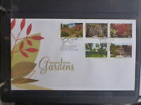 AUSTRALIA 2013 BOTANIC GARDENS SET 5 STAMPS FDC FIRST DAY COVER