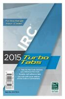 2015 International Residential Code Turbo Tabs for Paper Bound Edition by Intern