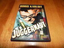 JUGGERNAUT Classic Boris Karloff Mad Scientist Horror Movie Film DVD