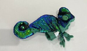 Chameleon Costume For Your PET Size XS Sequins 2 pieces