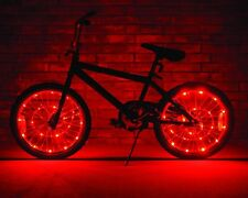Brightz, Ltd. Wheel Brightz LED Bicycle Light, Set of 2 Red Glow Waterproof