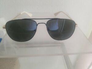 Gucci Sunglasses GG0514S Black Gold Gray 001 New Authentic