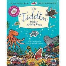 Tiddler Sticker Activity Book by Donaldson, Julia | Paperback Book | 97814071718