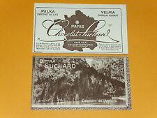 CHROMO PHOTO CHOCOLAT SUCHARD 1928 FRANCE DESCENTE DE L'ARDECHE