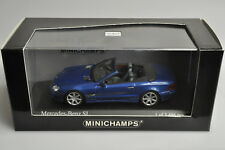 J793 Minichamps 400.031030 1:43 2001 Mercedes-Benz SL - Blue Met.