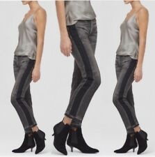 Citizens of Humanity Rare Gia High Rise Straight Leg Crop Eyelet Panic  27 $458