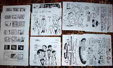 ALEX TOTH -125 Xerox Model Sheets, BIRDMAN, SEA LAB, MIGHTY MIGHTOR, OLIVER,etc