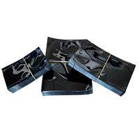 100 Pcs Colorful Heat Seal Smell Proof Foil Bags Foil Pouches Food Storage Bags