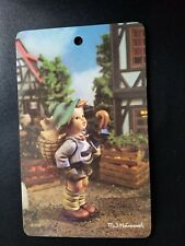 RiColor- Pictura MJ Hummel ARS Wall Plaques Picture -West Germany Boy w Pigs