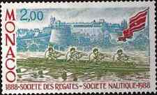 Timbre Sports Bateaux Monaco 1634 ** lot 1658
