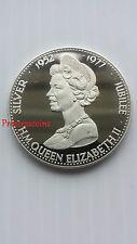 1977*UNC*QUEEN ELIZABETH II SILVER JUBILEE SOUVENIR MEDAL PROOF STRUCK IN CASE
