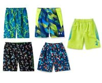 NEW - Under Armour Boy's Volley Board Shorts - Pick Size & Color MSRP:$38.00