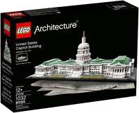 LEGO ARCHITECTURE 21030 CAMPIDOGLIO DI WASHINGTON NUOVO NEW