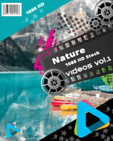 "HD (1080) Royalty Free Stock Footage Videos ""Nature Vol.1"" on DvD-Rom"