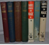 Tarbell Course In Magic - Volumes 1 thru 7 - Louis Tannen rare first edition