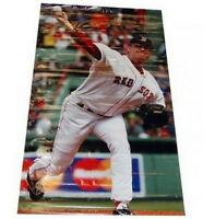 "CURT SCHILLING FENWAY PARK BOSTON RED SOX GAME USED 54"" x 96"" GIANT VINYL BANNER"