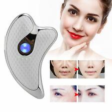 Microcurrent Facial Scraper Massager Electric Face Lifting Firming Beauty Scrap-