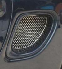 Zunsport Porsche Boxster 986 1996-2004 Side Vent Stainless Steel Grille Set