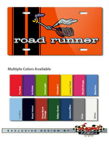 """1968 - 1970 Plymouth Road Runner """"Beep Beep"""" Novelty 6x12 Aluminum License Plate"""