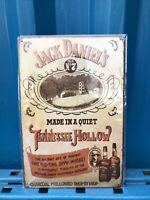 Jack Daniels Love Whiskey Restaurant, Bar, Pub, Vintage, Man Cave Metal Tin Sign