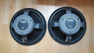 Altec Lansing 416-8C woofer pair consecutive ser. no very nice condition