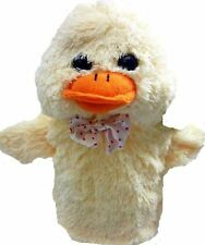 Springtime Hand Puppet Duck Easter Toys Child Animals Cute Story Aid Glove Chic
