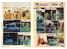 1984 (Ref T  484) : BOB MORANE LA GUERRE DES BALEINES   pl 34/35