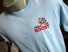XL True Vtg 80s ROOSTER GRAPHC SCREEN STARS ULTRA THIN T-shirt USA