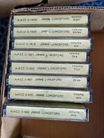 8 Jimmie Lunceford CASSETTE TAPE LOT SET 1-8 AJAX AJAZZ RARE RECORDINGS big band