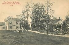 A View Of The Mansion & Annex, Locust Grove Farm, Sussex, New Jersey NJ 1913