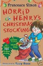 NEW HORRID HENRY CHRISTMAS STOCKING COLLECTION GIFT SET - CRACKER JOLLY JOKE