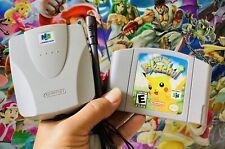 Hey You Pikachu Nintendo 64 N64 + Microphone Mic + VRU Voice Recognition Unit