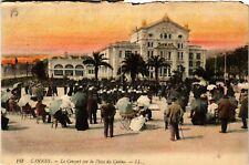 CPA  Cannes - Le Concert sur la Place du Casino  (513797)