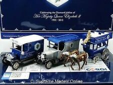 DIAMOND JUBILEE QUEEN ELIZABETH II 1952-2012 SPECIAL SET 3 MODELS TYPE Y0675J^*^