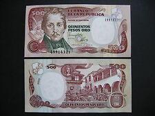 Colombia 500 pesos oro 4.1.1993 (p431a) UNC