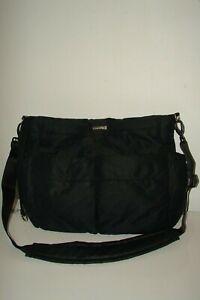 Kate Spade Cross Body Black Puffy Nylon Diaper Bag Gently Used
