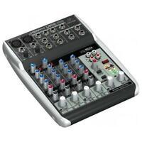BEHRINGER XENYX Q802-USB MIXER 8 INGRESSI +48V + INTERFACCIA AUDIO USB + SOFTWAR