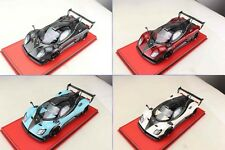 Pagani Zonda LM Carbon, Red, White, Carbon, Blue - Limited Edition Peako 1/18