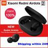 Hot Xiaomi MI Redmi Airdots 2 TWS Earphone Wireless Bluetooth 5.0 2020