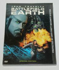 Battlefield Earth Dvd (2000) John Travolta Special Edition New Sealed