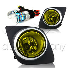2008-2011 Toyota RAV 4 Fog Lights w/Wiring Kit & HID Conversion Kit - Yellow