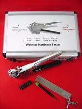 W-20 Webster Hardness tester for Aluminum Alloy Metal Durometer 0.6-6mm t