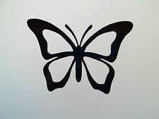 2 x Butterflies Car Side Mirror Wing Mirror Vinyl Decal Stickers Van Butterfly