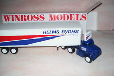 Helms/Byrns Express Winross Diecast Delivery Trailer Truck