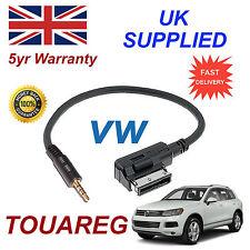 ORIGINALE VW Touareg MMI 000051446d 3.5 MM JACK MP3 IPOD in Auto Cavo di ricambio
